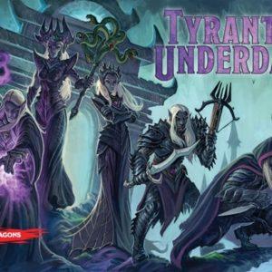 Tyrants of the Underdark okładka